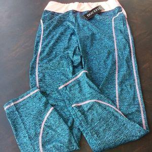 Pants - NWT, Gym Pants Blue & Pink Size XL